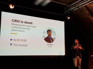 The CRO is dead presentation